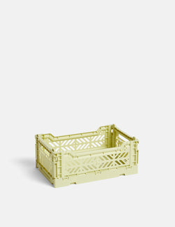 Hay Colour Crate (Small) - Lime