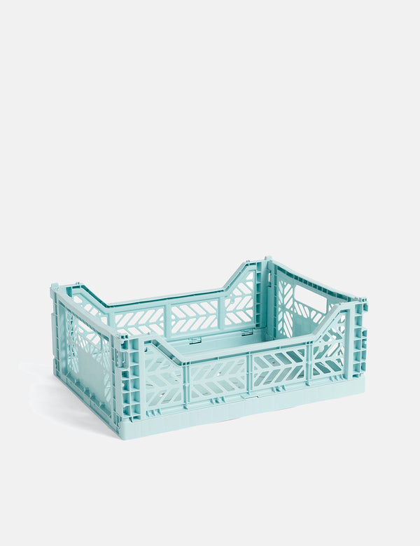 Hay Color Crate (Medium) - Arktisches Blau