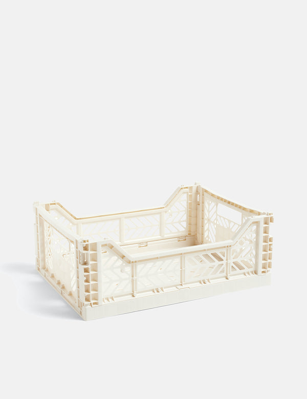 Hay Color Crate (Medium) - Off White