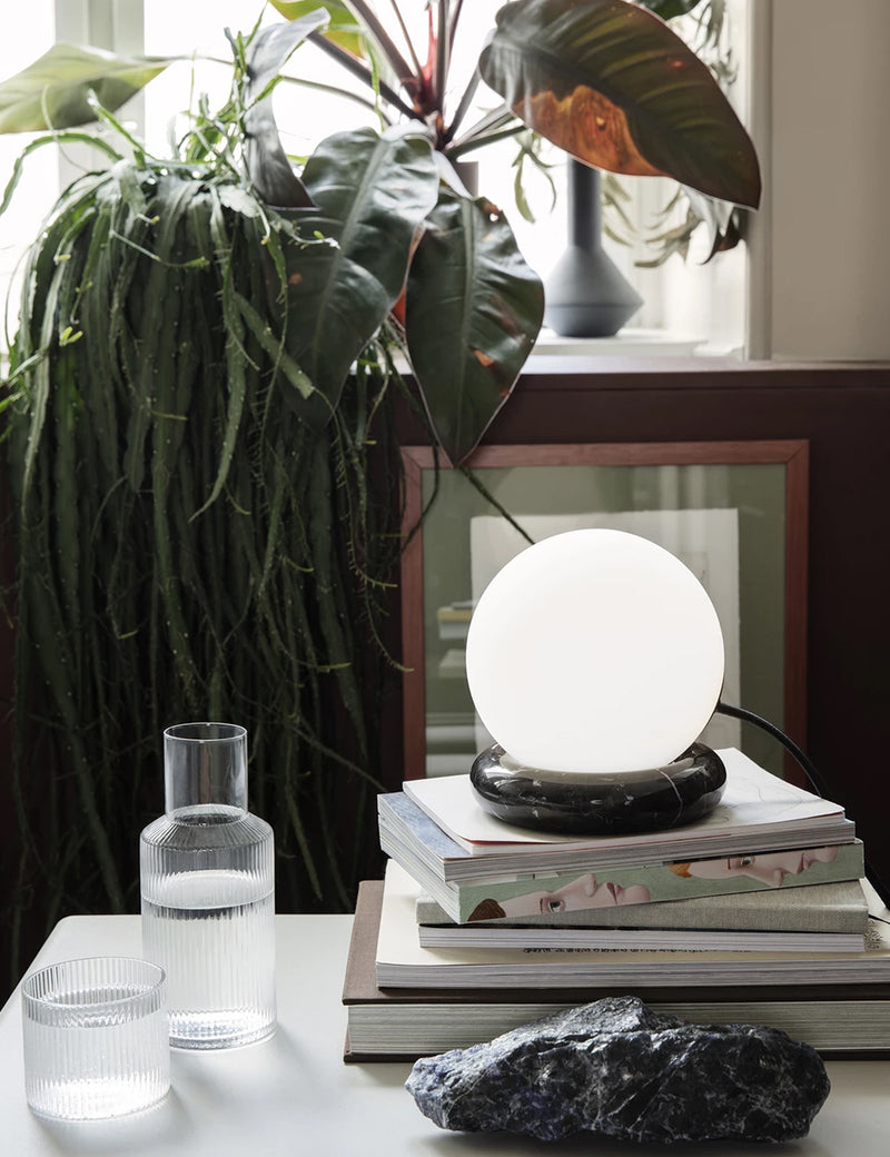 Ferm Living Rest Lamp (Marble) - Black