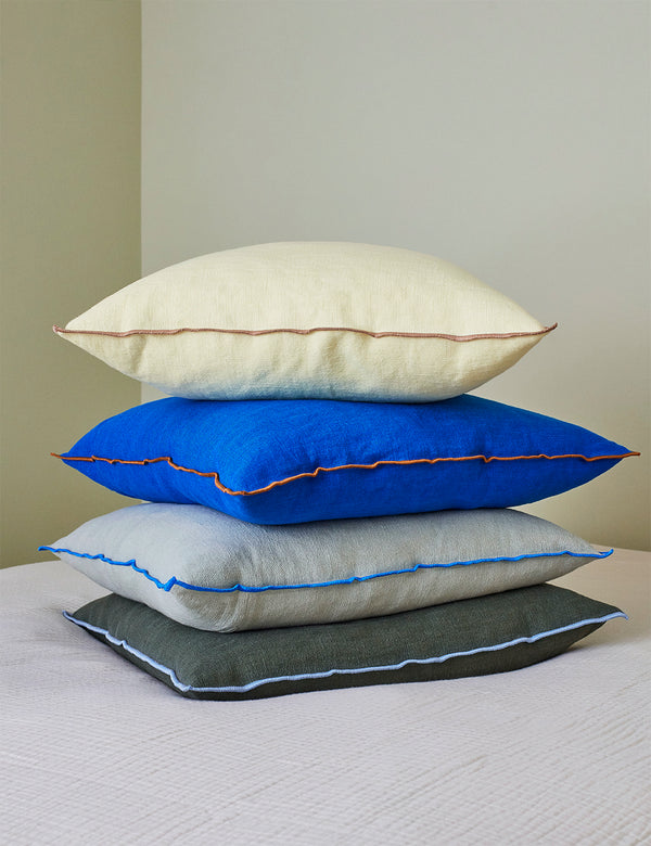 Hay Outline Cushion - Zitronensorbet