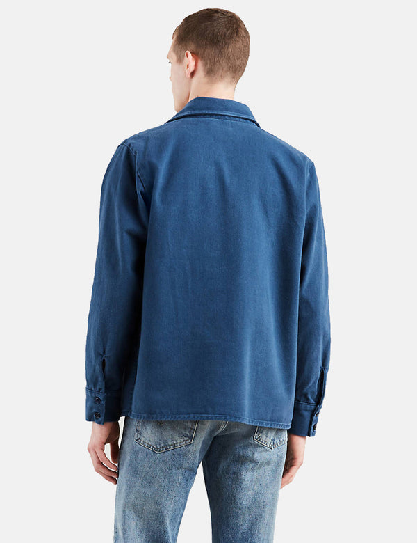 Levis Vintage Clothing Shirt Jacket - Dark Blue