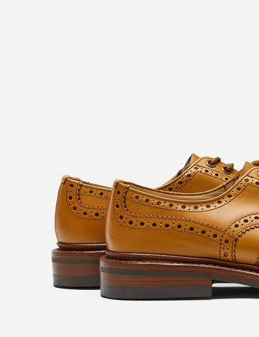 Tricker's Bourton Country Shoe - Acorn Antique Tan