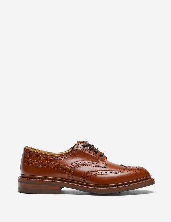 Tricker's Bourton Country Shoe - Antique Brown