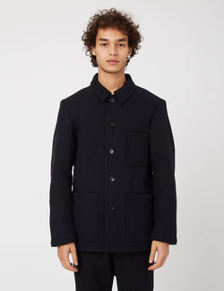 Vetra Workwear Double Wool Jacket - Marine