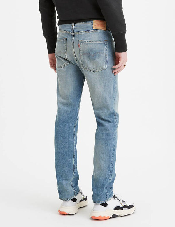 Levis Vintage Clothing 1966 501 Jeans - Greystone Blue