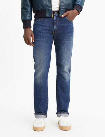 Levis Vintage Clothing 1967 505 Jeans - Cosmos Blue