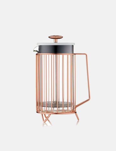 Barista & Co Corral 8 Cup Coffee Press - Copper - Article