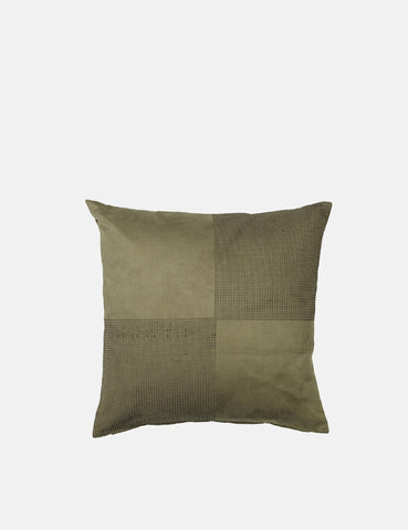 Broste Copenhagen Birla Cushion Cover - Grape Leaf Green - Article