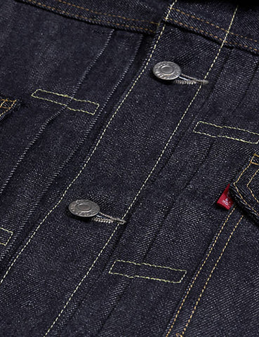 Levis Vintage Clothing 1953 Type II Jacket - Rigid Blue