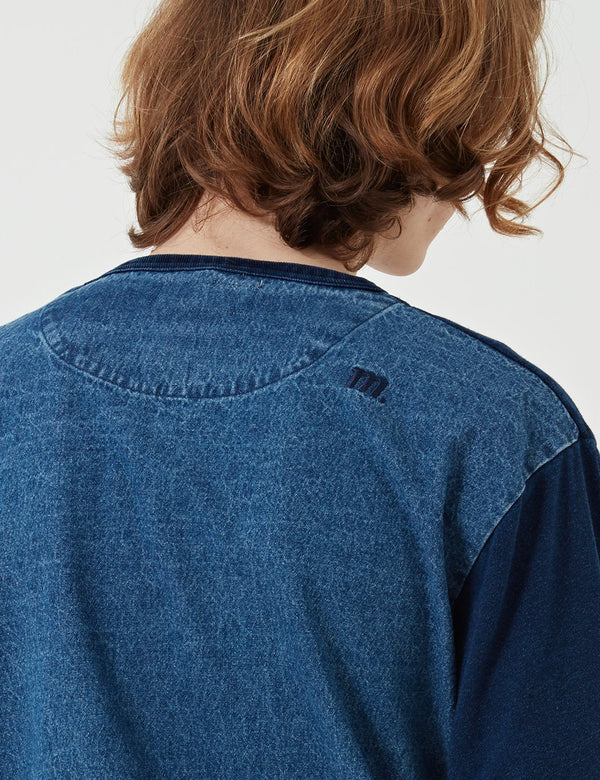 Manastash Snug Pile Sweat - Indigoblau