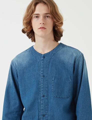 Manastash OD Layer III Shirt - Indigo Blue