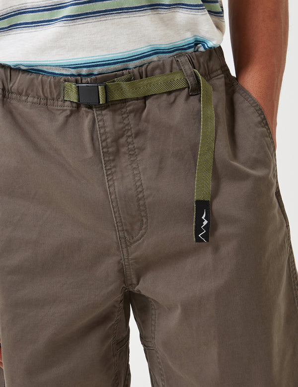 Manastash Flex Climber Shorts - Olive Green