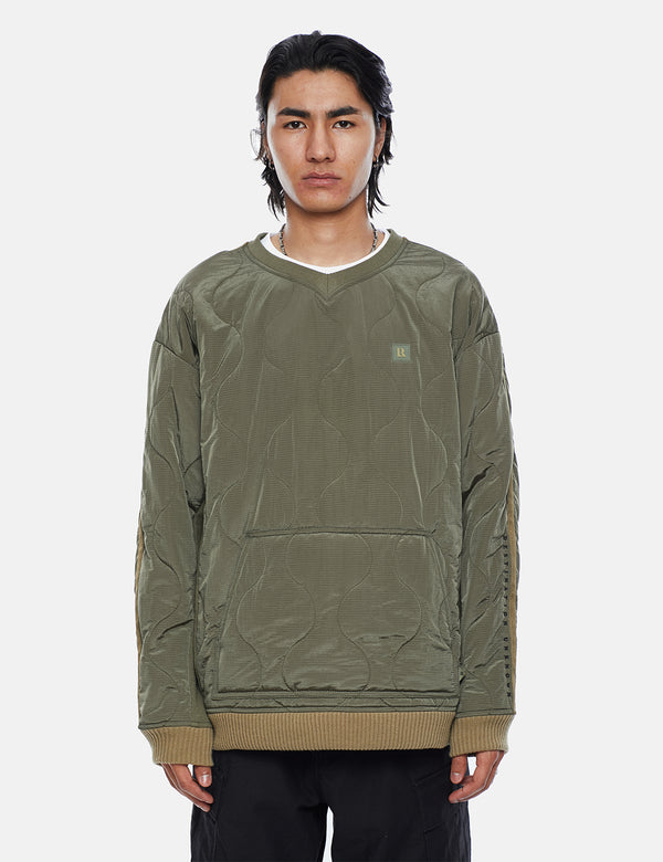 Liberaiders LR gesteppter Pullover - Olive