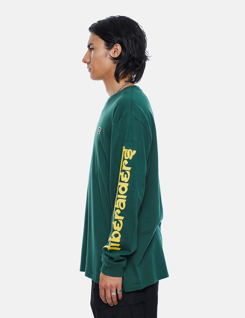 Liberaiders Wanderer Long Sleeve T-Shirt - Green