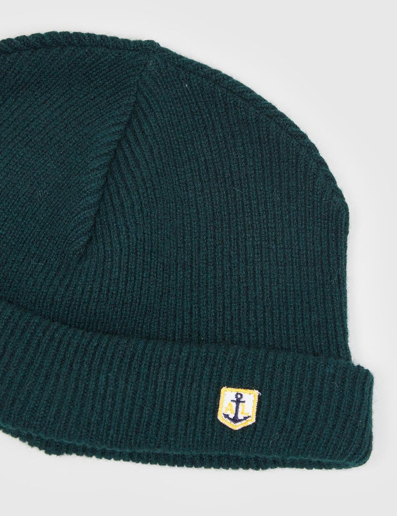 Armor Lux Heritage Wool Beanie Hat - Tige Green - Article