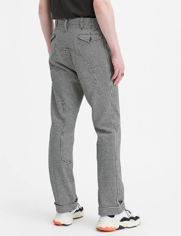 Levis Vintage Clothing Riders Pants - Dogtooth Black/White
