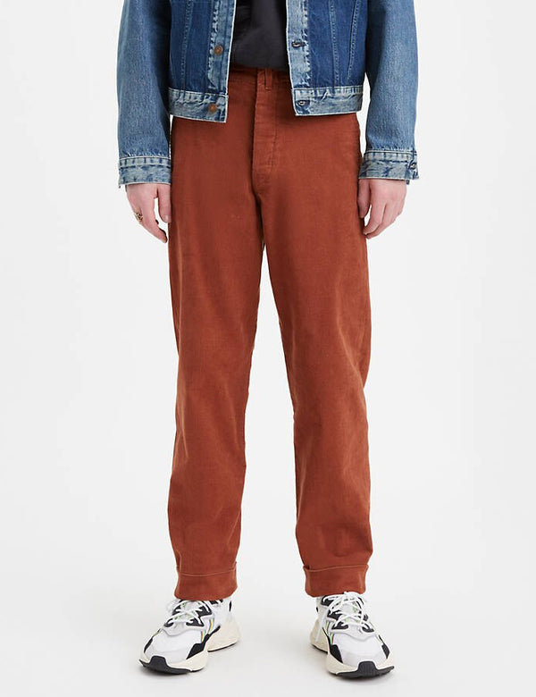 Levis Vintage Clothing 1919 Cords - Camel Brown