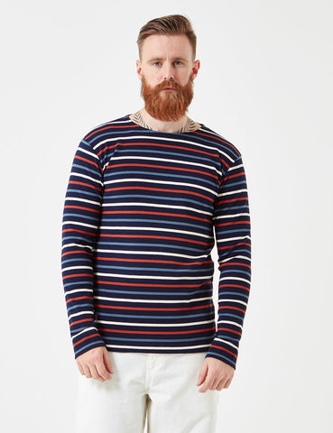 Armor Lux Heritage Breton T-Shirt - Navy/Multi - Article