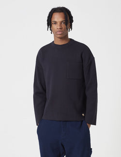 Armor Lux Heritage Knit Jumper - Rich Navy Blue - Article