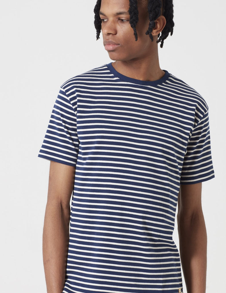 Armor Lux Heritage Breton T-Shirt - Dark Navy Blue/Nature - Article
