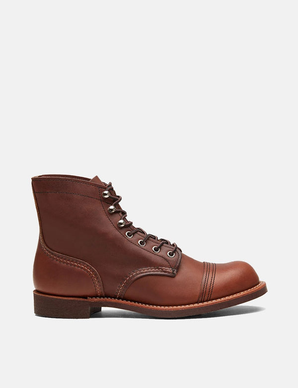 "Red Wing Heritage 6"" Iron Ranger Boots (8111) - Amber Brown Harness"