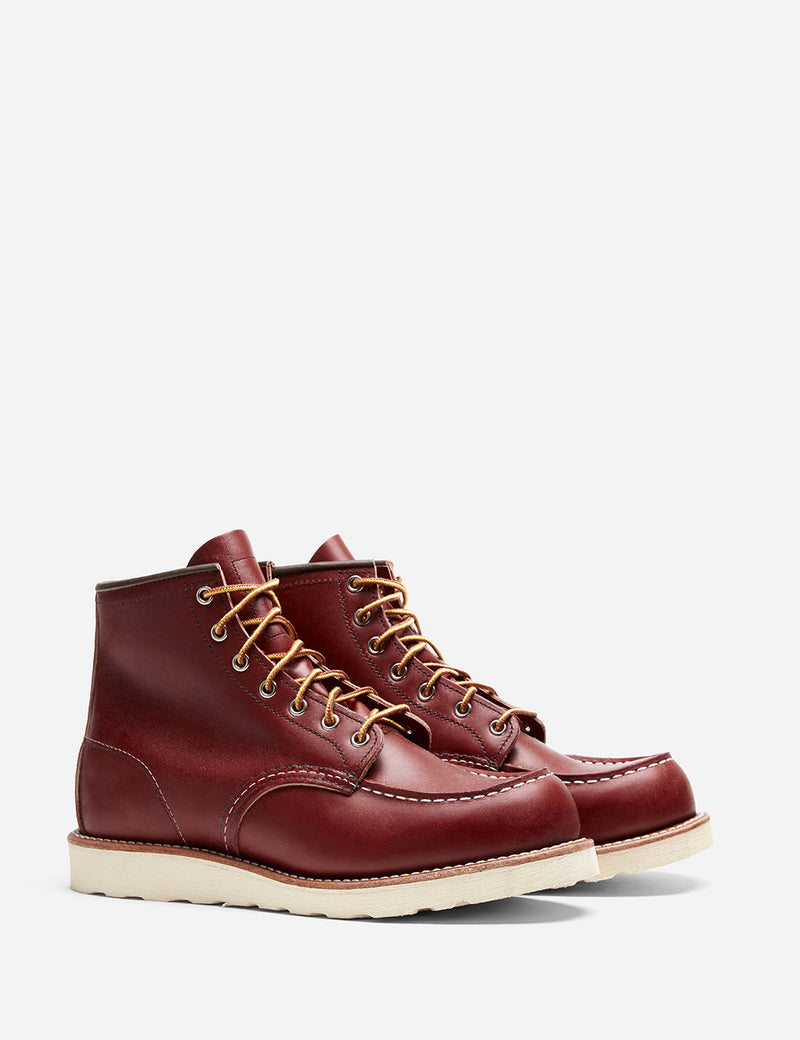 "Red Wing 6"" Moc Toe Boot 8131 (Leather) - Oro Russet Portage"