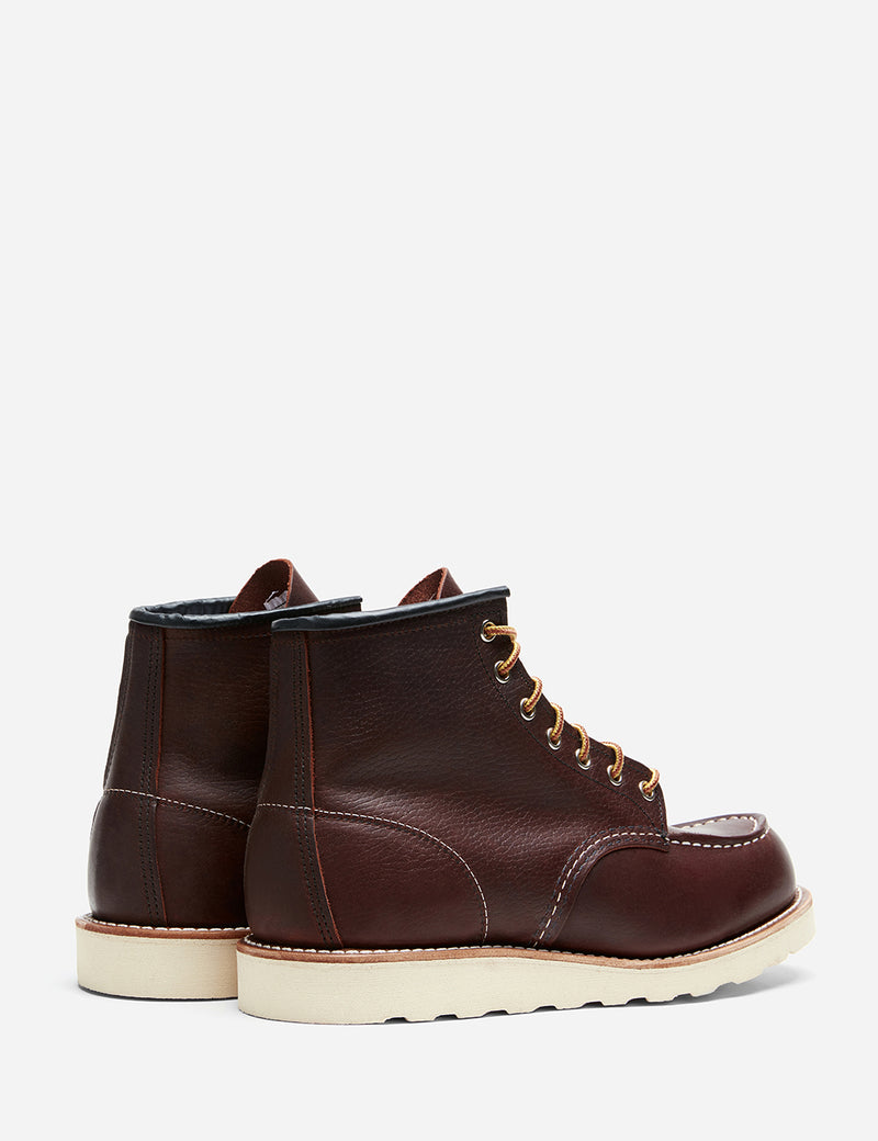 "Red Wing 6"" Moc Toe Boot 8138 (Leather) - Brown"