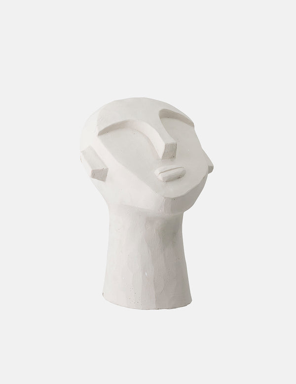 Bloomingville Deco Cement Sculpture - White