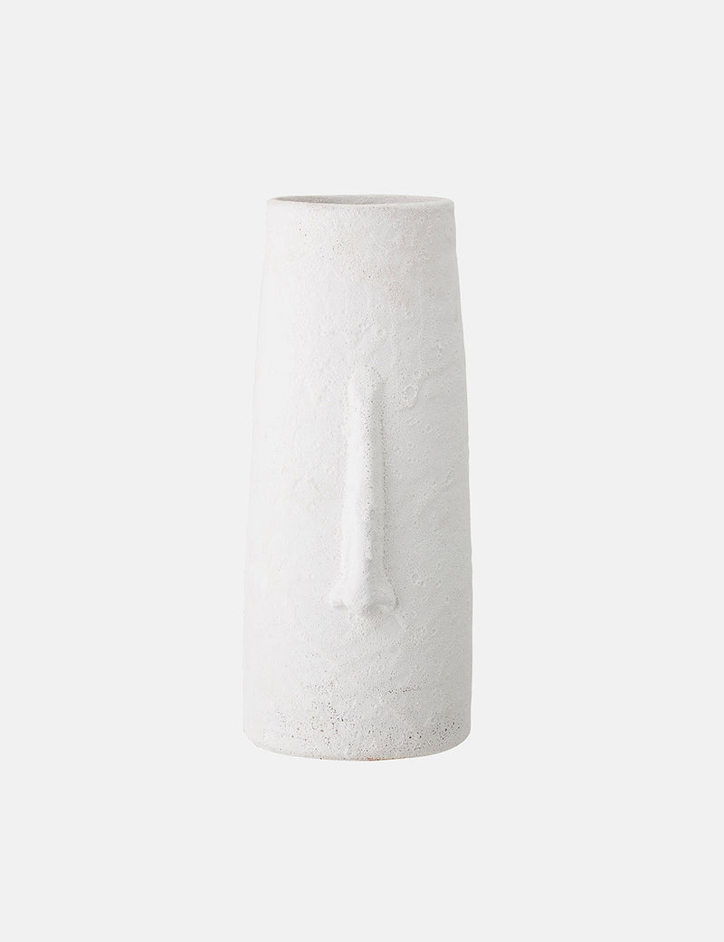 Bloomingville Deco Vase (Terracotta) - White