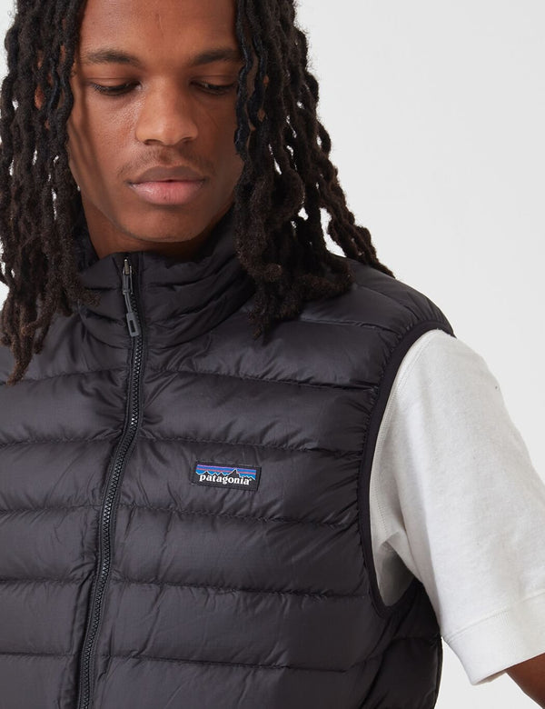 Patagonia Down Sweater Insulated Vest - Black