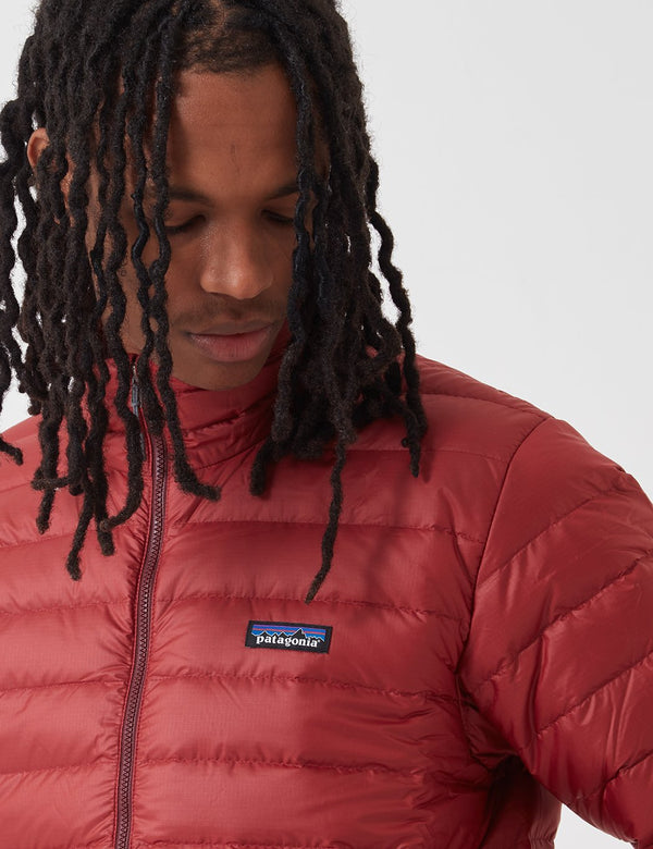 Patagonia Down Sweater Insulated Jacket - Oxide Red