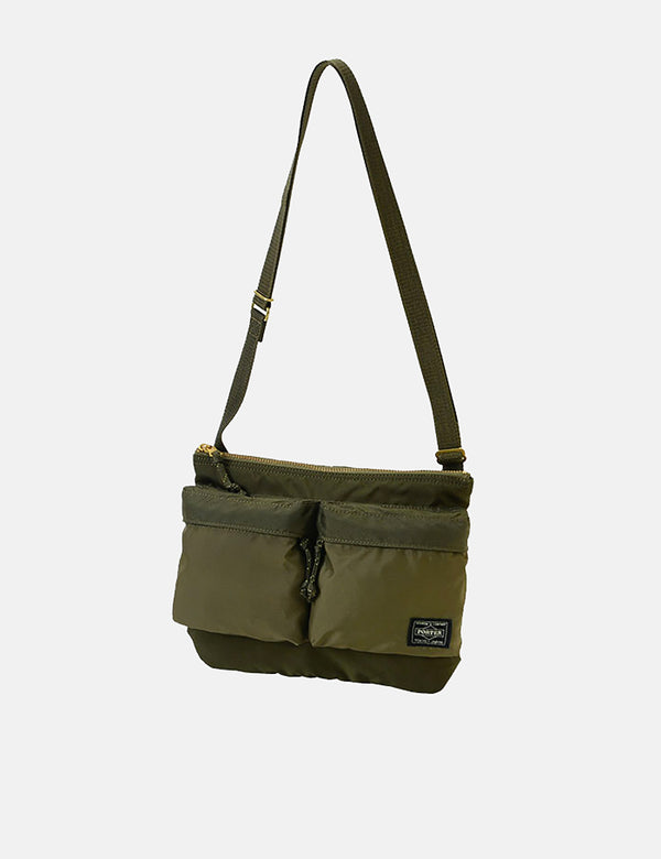 Porter Yoshida & Co Force Shoulder Bag - Olive Drab