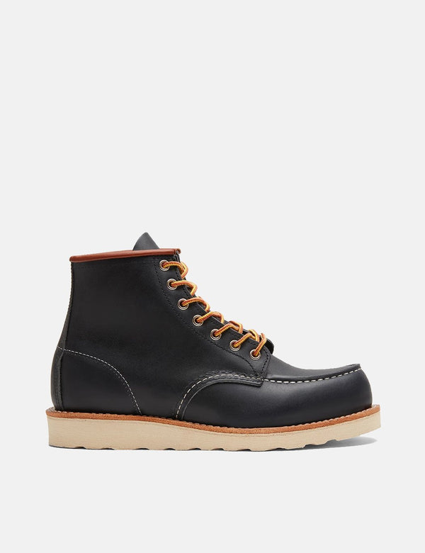 "Red Wing Heritage 6"" Moc Toe Work Boots (8859) - Navy Blue"