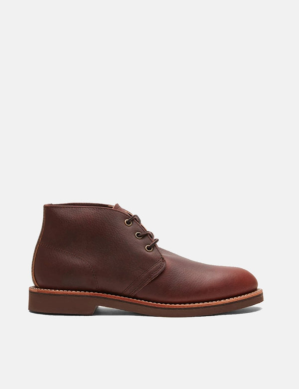 Red Wing Heritage Foreman Chukka Bootss (9125) - Brown Briar Oil Slick