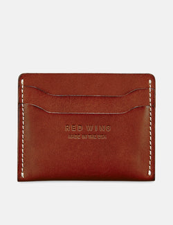 Red Wing Card Holder Wallet - Oro Russet