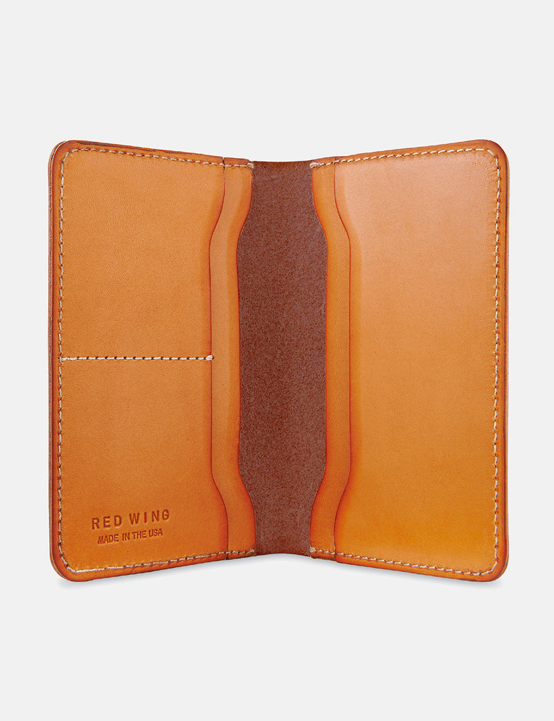 Red Wing Passport Wallet - London Tan