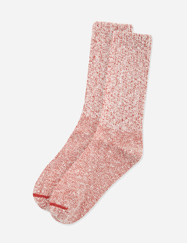 Red Wing Ragg Socks (Cotton) - Red