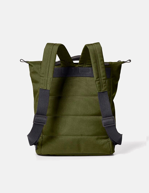 Ally Capellino Mini Hoy Travel/Cycle Rucksack - Army Green