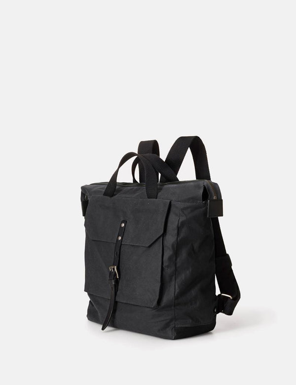 Ally Capellino Frances Waxy Backpack - Black - Article