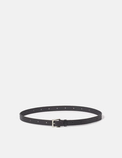 Ally Capellino Arty Leather Belt - Black