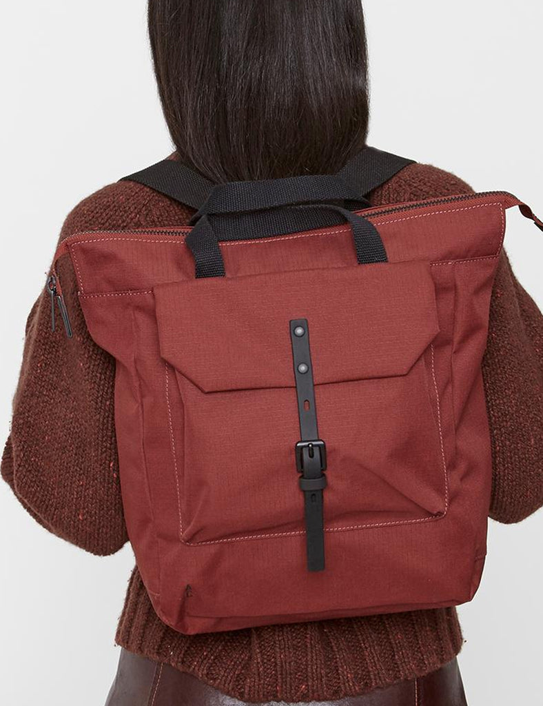2734580ffc + Ally Capellino Frances Ripstop Backpack - Burgundy - Article