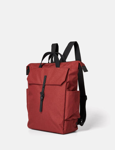 Ally Capellino Fin Ripstop Backpack - Burgundy - Article