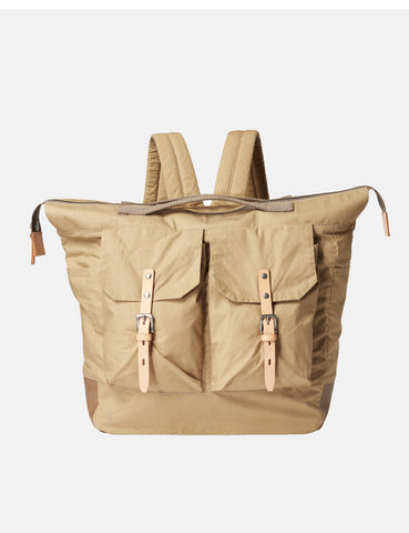 Ally Capellino Frank Waxy Backpack - Sand Beige - Article