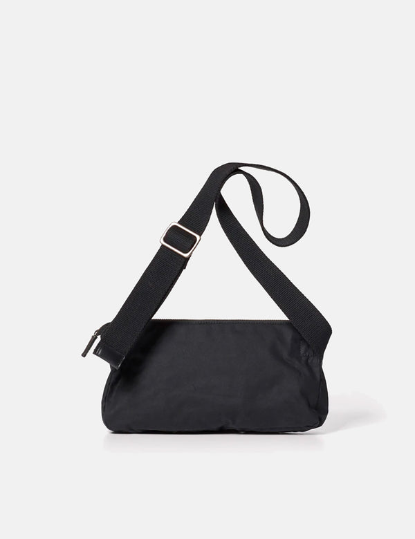 Ally Capellino Adam Waxed Cotton Belt Bag (Hip Bag) - Black