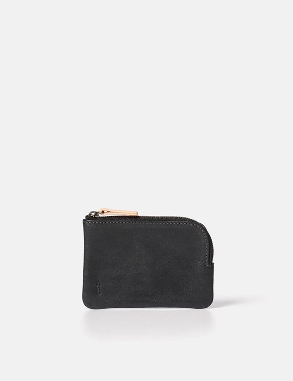 Ally Capellino Hocker Leather Purse (Small) - Black