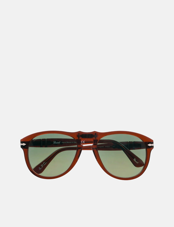 A.P.C. x Persol 649 Sunglasses - Nut Brown