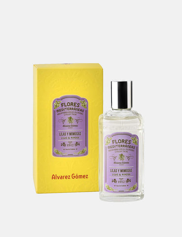 Alvarez Gomez Med Flowers EDT (80ml) - Lilac and Mimosa