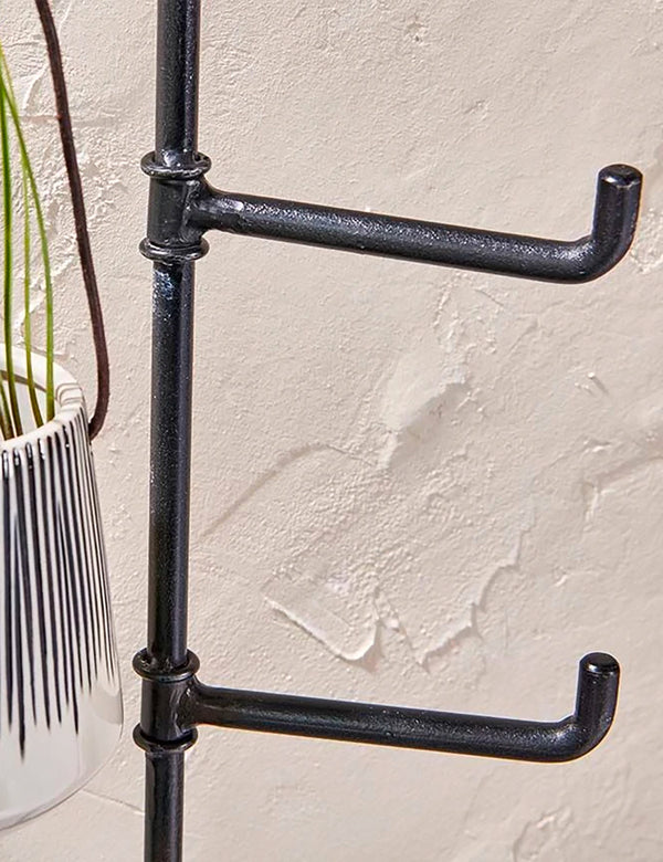 Nkuku Aniko Wall Mounted Hook (3 Hooks) - Iron