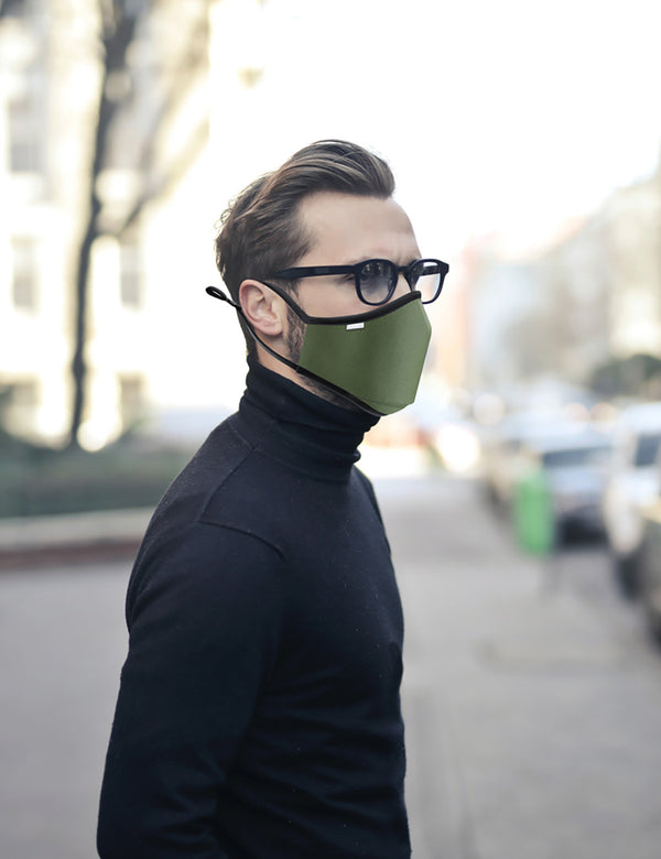 Breathe Face Mask - Khaki